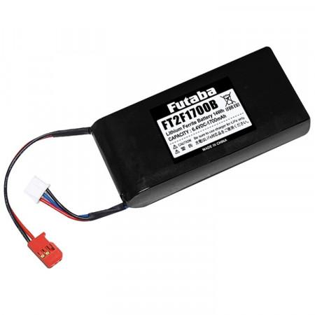 Futaba Sändarbatteri Li-Fe 2S 6,6V 1700mAh 4PX/4PKS/4PL/6J/8J/14SG