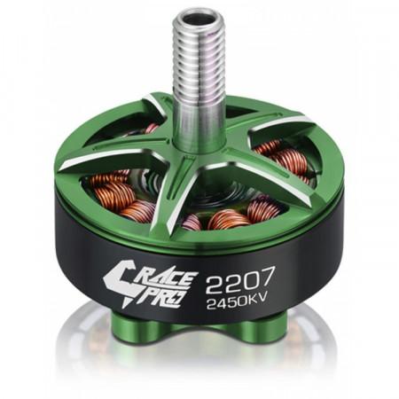Hobbywing Xrotor 2207 Motor 2450kV Grön V1 4-5S