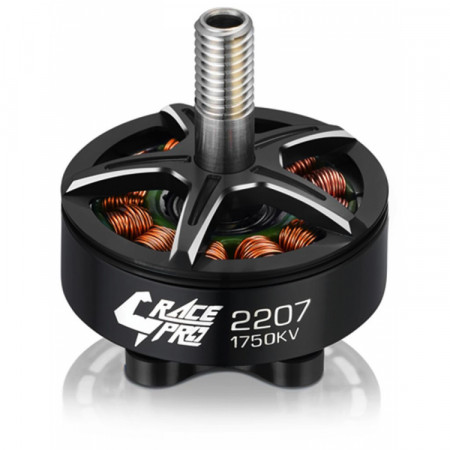 Hobbywing Xrotor 2207 Motor 1750kV Svart V1 4-6S