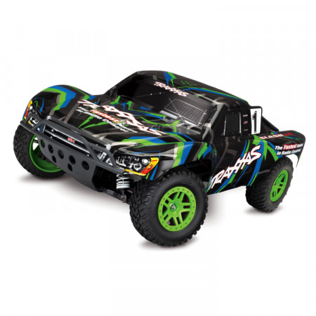 Traxxas Slash 4x4 XL-5 1/10 RTR TQ Grön - Med Batteri & Laddare