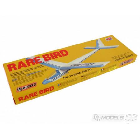 Rare Bird byggsats i balsa, gummidriven DRP Models