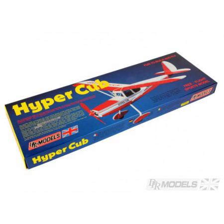 Hyper Cub byggsats i balsa. gummidriven DRP Models
