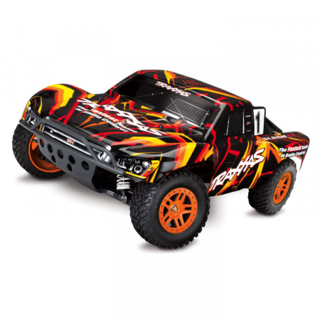 Traxxas Slash 4x4 XL-5 1/10 RTR TQ Orange - Med Batteri & Laddare