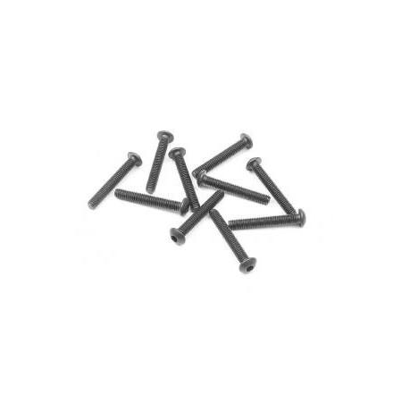Skruv insex kuller M3x20(10)