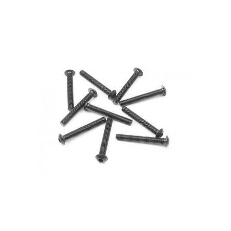 Skruv insex kuller M3x22(10)