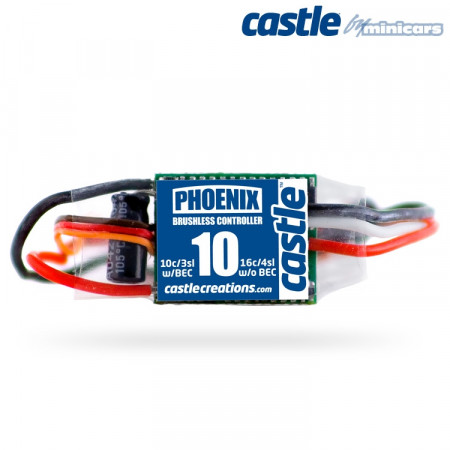 Castle Creations PHOENIX-10A 20V BEC Air BL ESC