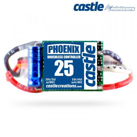 Castle Creations PHOENIX-25A 20V BEC Air BL ESC