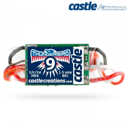 Castle Creations THUNDERBIRD-9A 15V BEC Sport Air BL ESC