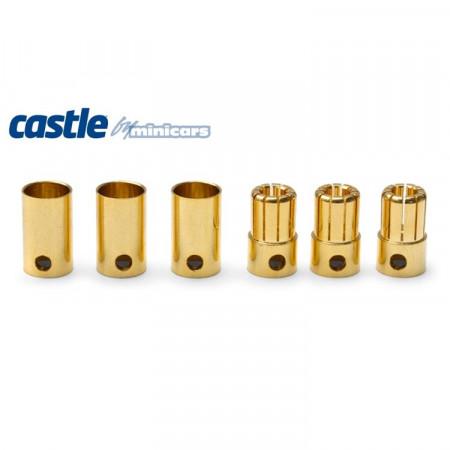 CC 8mm Bullet Kontakter 3par 300A