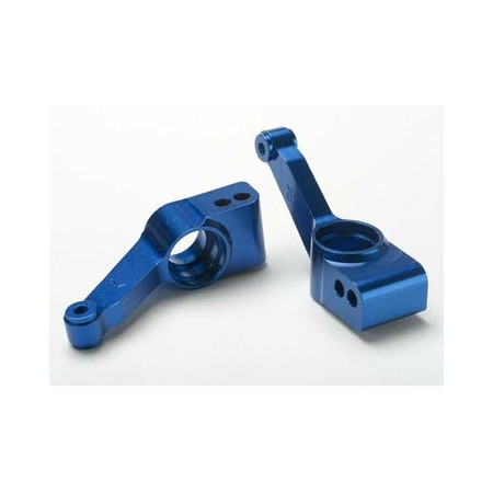 Hjulkonsoll Bak Aluminium Blå (2)