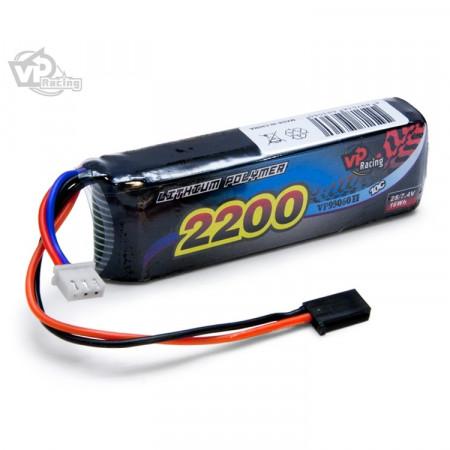 Vapex Sändar/Mottagar Batteri Li-Po 7,4V 2200mAh