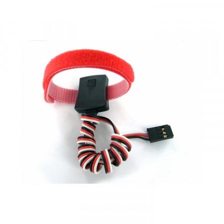SkyRC Temp. sensor 0-80 grader kardborr